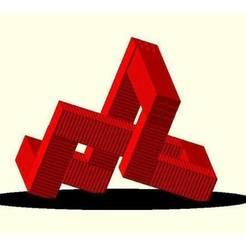 Download free 3D printer designs Cargo container landmark, JustinSDK