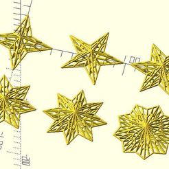 hollow_out_star.JPG Download free STL file Hollow out starburst • Object to 3D print, JustinSDK