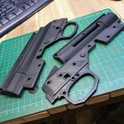 layin on computer desk.jpg Download STL file GJ M24/Kar98 Gel blaster receiver  • 3D printing template, Uomtag