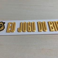 Descargar STL gratis Jogo do Bicho keychain, eojogodobicho