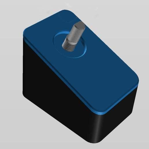Télécharger fichier STL gratuit Commutateur de volume et de sortie pour PC, sidneylopsides