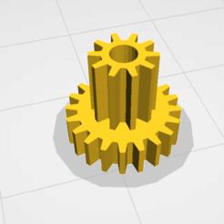 Download free 3D printing files Babyliss twist curl secret pulley big10t 20t, jamiednj