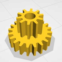 Download free 3D printer designs Babyliss twist curl secret pulley small 10t 20t, jamiednj