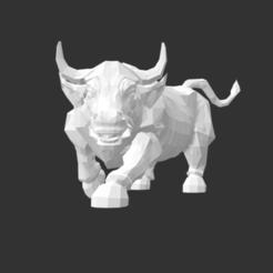 Download free STL file Mad Bull, detaildesigner