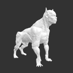 Screenshot 2020-07-16 at 17.46.47.png Download free STL file Werewolf • 3D printable model, detaildesigner
