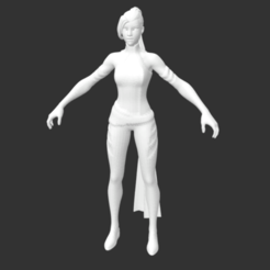 Download free STL file Psylocke Fortnite • 3D printing object, detaildesigner