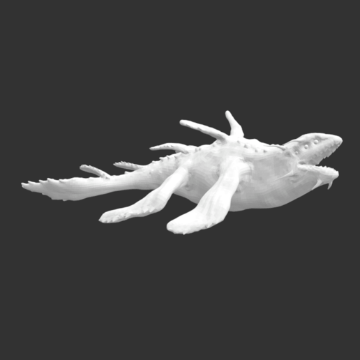 Download free STL file Ancient Mythical Creature • Model to 3D print, detaildesigner
