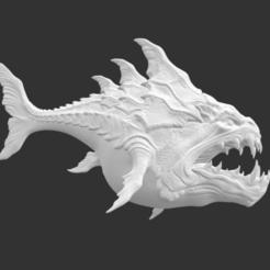 Download free STL Deepsea Monster, detaildesigner