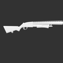 Download free 3D printer templates Pump Shotgun Fortnite, detaildesigner
