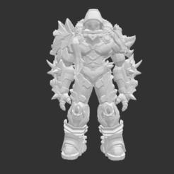 Download free 3D printer model Ancient Worrior Monster, detaildesigner