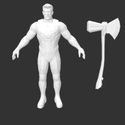 Télécharger objet 3D gratuit Thor Infinity war Edition, detaildesigner