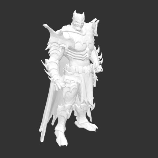 Download free STL file Batman • 3D print object, detaildesigner