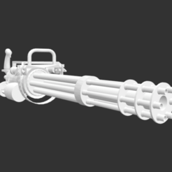 Download free STL files Light Minigun, detaildesigner