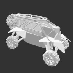 Download free 3D printer designs Futuristic Buggie, detaildesigner