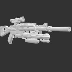 Télécharger fichier STL gratuit Fusil de sniper amélioré • Plan pour imprimante 3D, detaildesigner