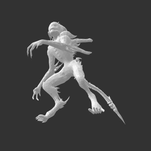 Screenshot 2020-07-16 at 17.12.07.png Download free STL file Giant Alien Creature • Object to 3D print, detaildesigner