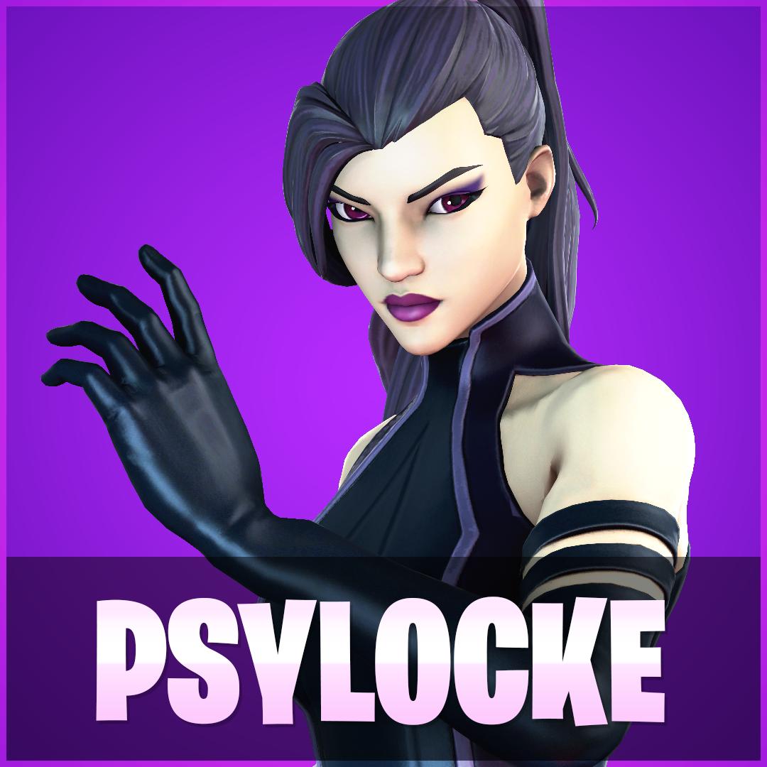 models_Psylocke SQUARE Thumbnails.png Download free STL file Psylocke Fortnite • 3D printing object, detaildesigner