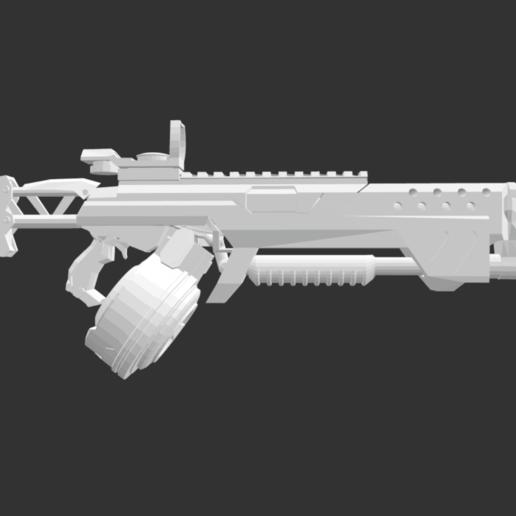 Screenshot 2020-07-13 at 19.44.03.png Download free STL file Dirty shotgun • 3D printing template, detaildesigner
