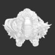 Download free STL file Ancient Worrior Monster • 3D print template, detaildesigner