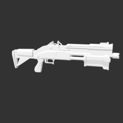 Download free STL file Tactical Shotgun Fortnite • 3D printer object, detaildesigner