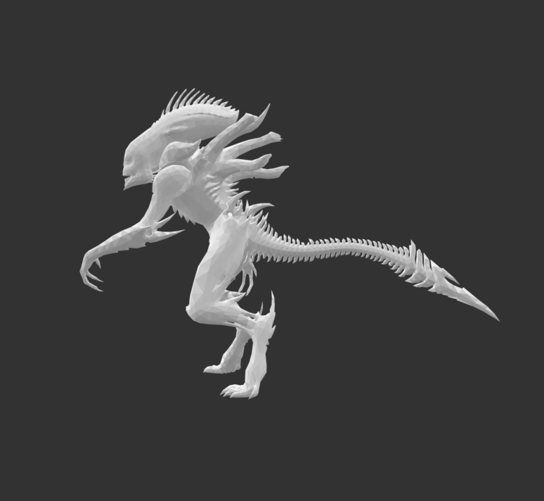 Screenshot 2020-07-16 at 17.11.42.png Download free STL file Giant Alien Creature • Object to 3D print, detaildesigner
