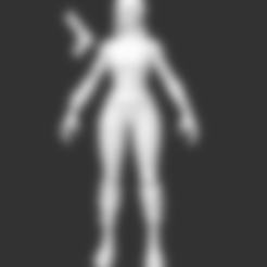 Renegade Raider Fortnite.stl Download free STL file Renegade Raider Fortnite • 3D printer model, detaildesigner