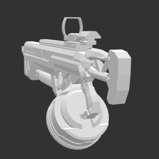 Screenshot 2020-07-13 at 19.44.12.png Download free STL file Dirty shotgun • 3D printing template, detaildesigner