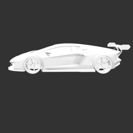 Télécharger fichier STL gratuit Lamborgini Aventador Sport • Modèle pour impression 3D, detaildesigner