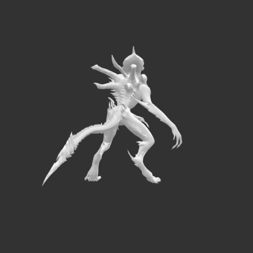 Screenshot 2020-07-16 at 17.11.54.png Download free STL file Giant Alien Creature • Object to 3D print, detaildesigner
