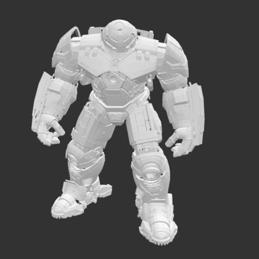 Download free STL file Big Ironman • 3D print template, detaildesigner