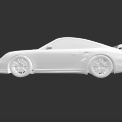 Download free STL file Porsche 911 Gt2 • 3D print model, detaildesigner