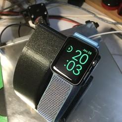 IMG_8062.jpeg Download free STL file Apple Watch Stand • 3D printer template, jurekkb