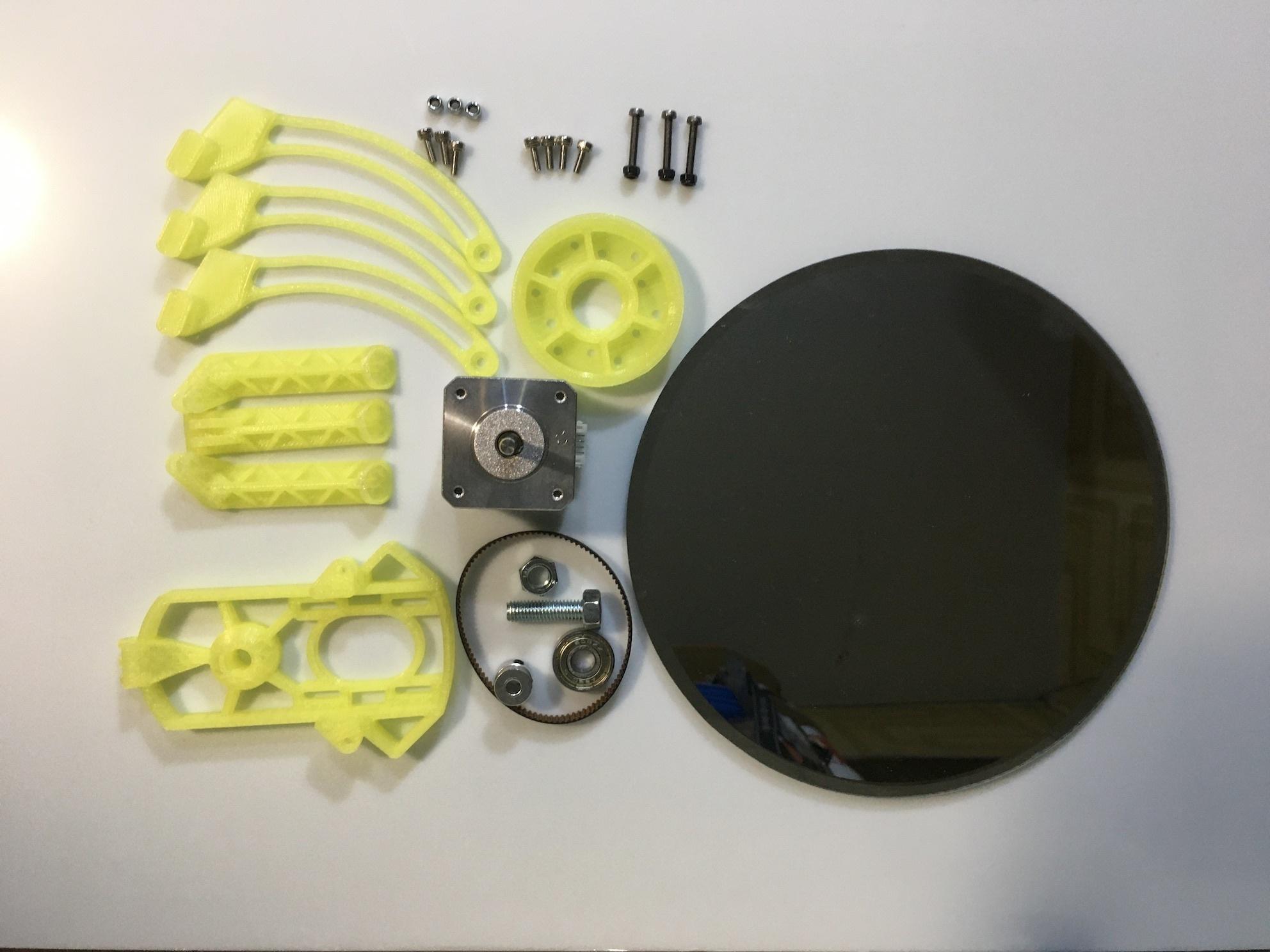 IMG_8359.jpeg Download free STL file StarScan_Dub_Turntable • 3D printing object, jurekkb