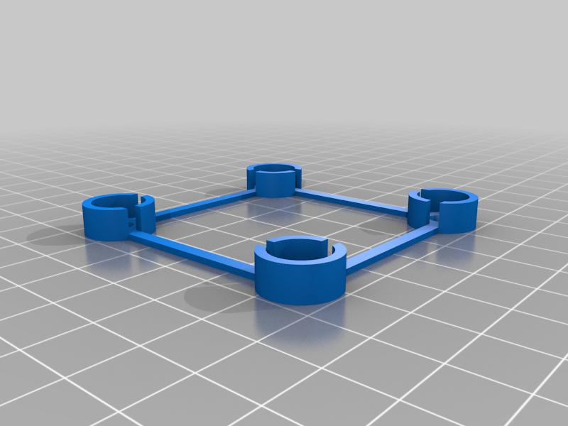 support_WS.png Download free STL file Japanese style light box • Design to 3D print, jurekkb