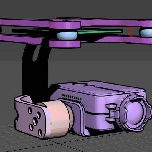 Download free STL file 2 Axis gimbal for BGC board • 3D printer design, mwilmars