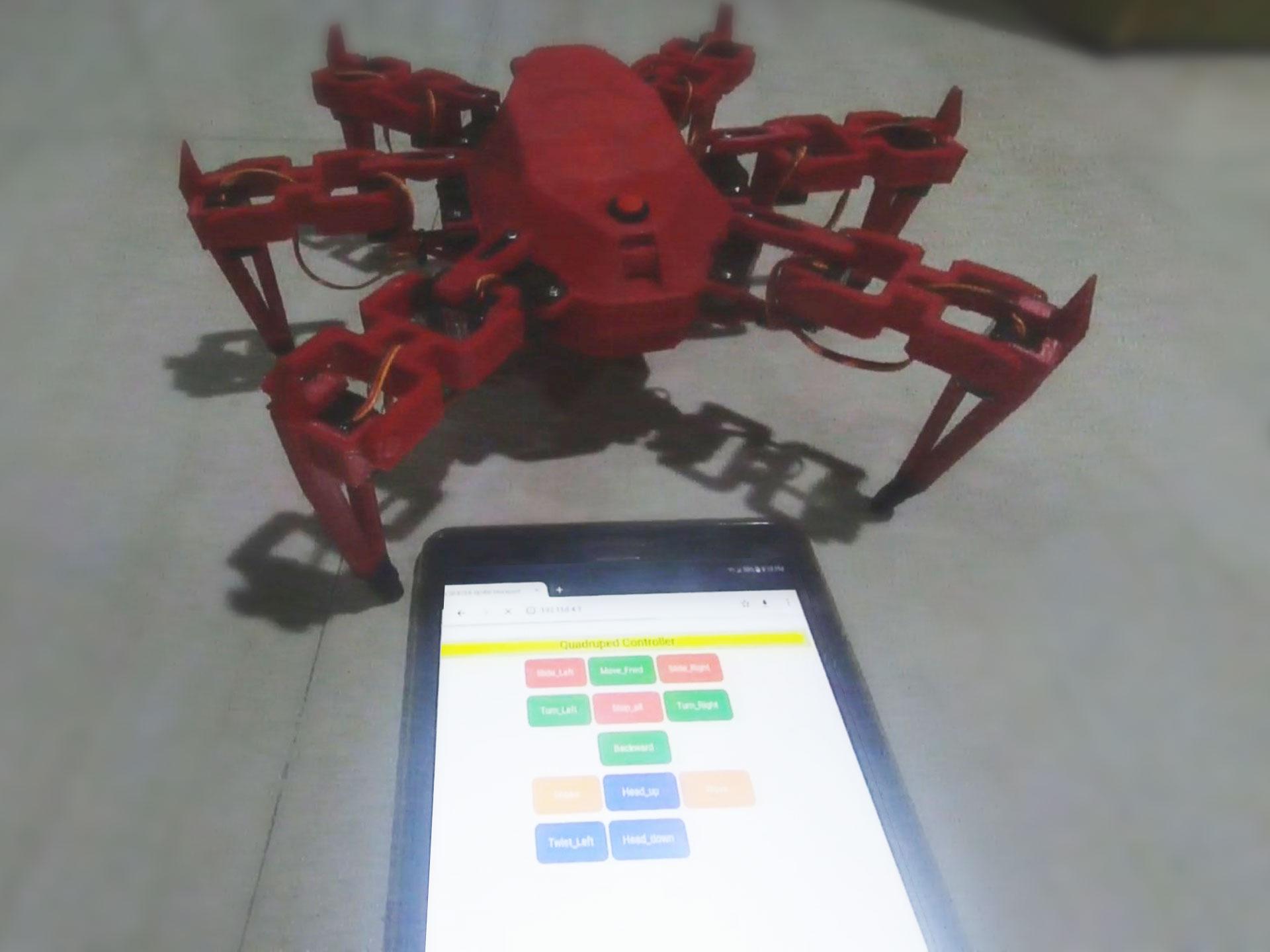 YDXJ0004.MP4_snapshot_00.23.651.jpg Télécharger fichier STL gratuit Robot hexagonal V1 • Design pour impression 3D, mwilmars