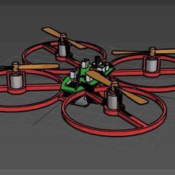 Télécharger fichier imprimante 3D gratuit Cadre simple pour CX-002 Bricolage Drone, mwilmars