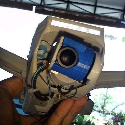 WIN_20171111_09_35_27_Pro.jpg Télécharger fichier STL gratuit Drone Sprank (bourdon de course avec cardan à came) • Objet pour impression 3D, mwilmars