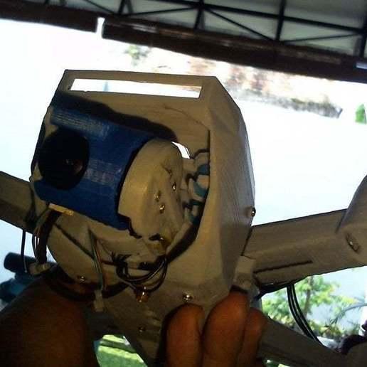 WIN_20171111_09_35_38_Pro.jpg Télécharger fichier STL gratuit Drone Sprank (bourdon de course avec cardan à came) • Objet pour impression 3D, mwilmars