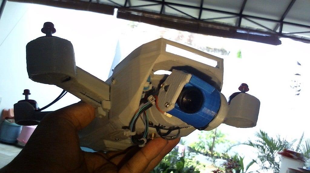 WIN_20171111_09_35_32_Pro.jpg Télécharger fichier STL gratuit Drone Sprank (bourdon de course avec cardan à came) • Objet pour impression 3D, mwilmars