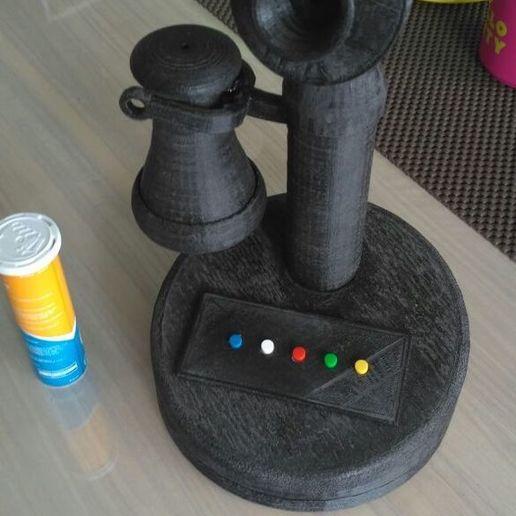 Impresiones 3D gratis Teléfono Retro, mwilmars