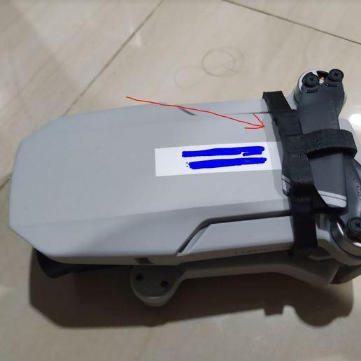 Capture.JPG Télécharger fichier STL gratuit Support d'hélice de mini-top DJI Mavic • Design imprimable en 3D, mwilmars