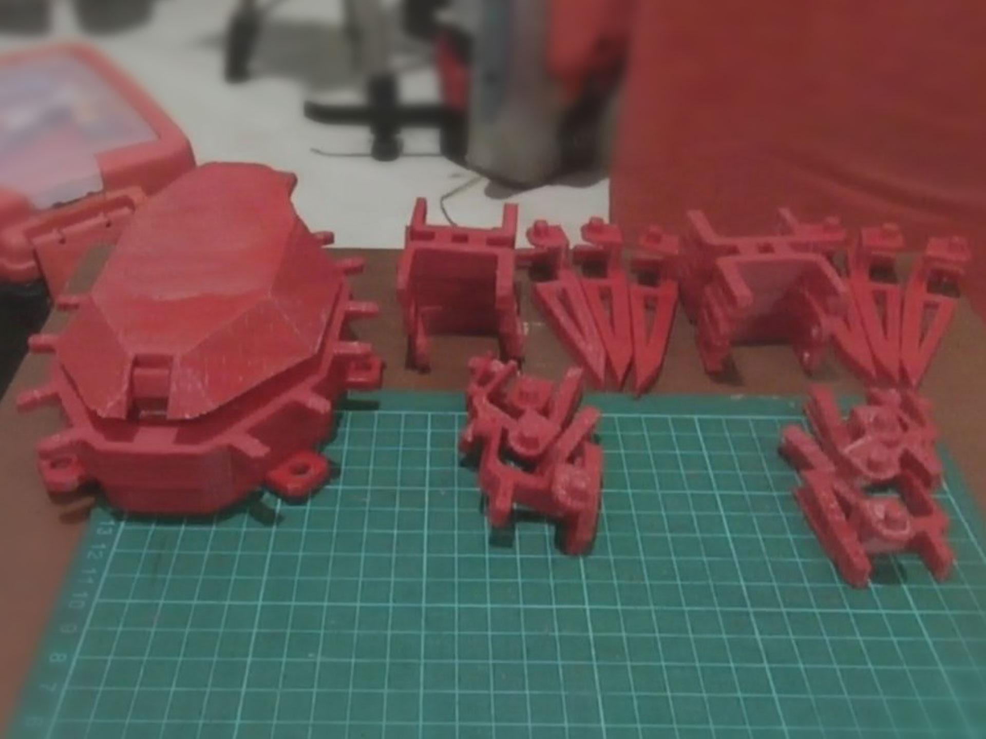 YDXJ0001.MP4_snapshot_00.03.450.jpg Télécharger fichier STL gratuit Robot hexagonal V1 • Design pour impression 3D, mwilmars