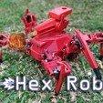 tumb.jpg Télécharger fichier STL gratuit Robot hexagonal V1 • Design pour impression 3D, mwilmars