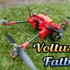 Download free 3D printing files Voltus V3 (Fatboy) with fold leg and arm, mwilmars