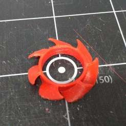 Download free 3D printer model 50mm fan blade replacement, mwilmars