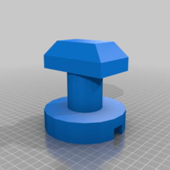 Download free 3D printing templates Simple plastic sheed clamp for 2020 extrusion, mwilmars