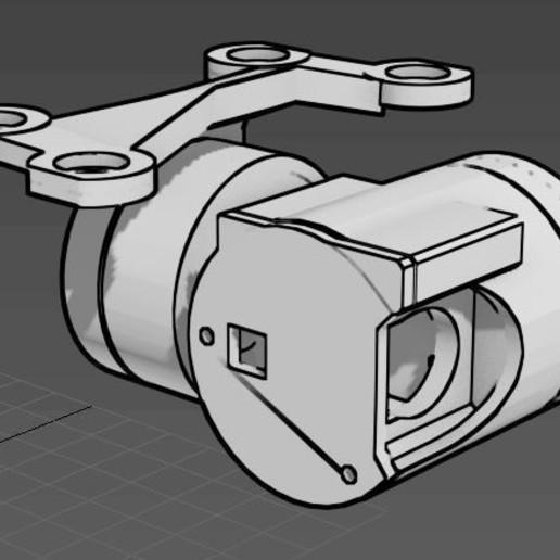 Download free 3D printer model Runcam Split gimbal arm..., mwilmars