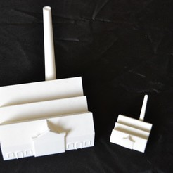 Download free 3D printing designs Saint-Nazaire elevator plant, Designandmore3D