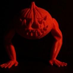 Download free STL files Human Pumpkin, Designandmore3D